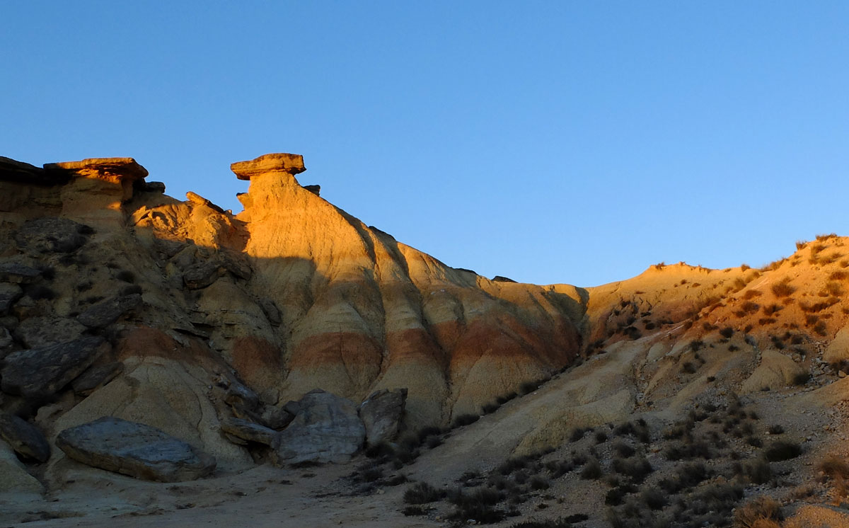Bardenas geological