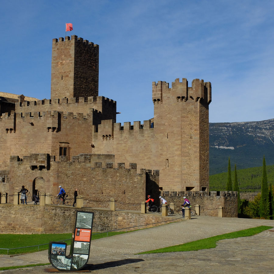 Castillo-Javier-bike-in-Spain