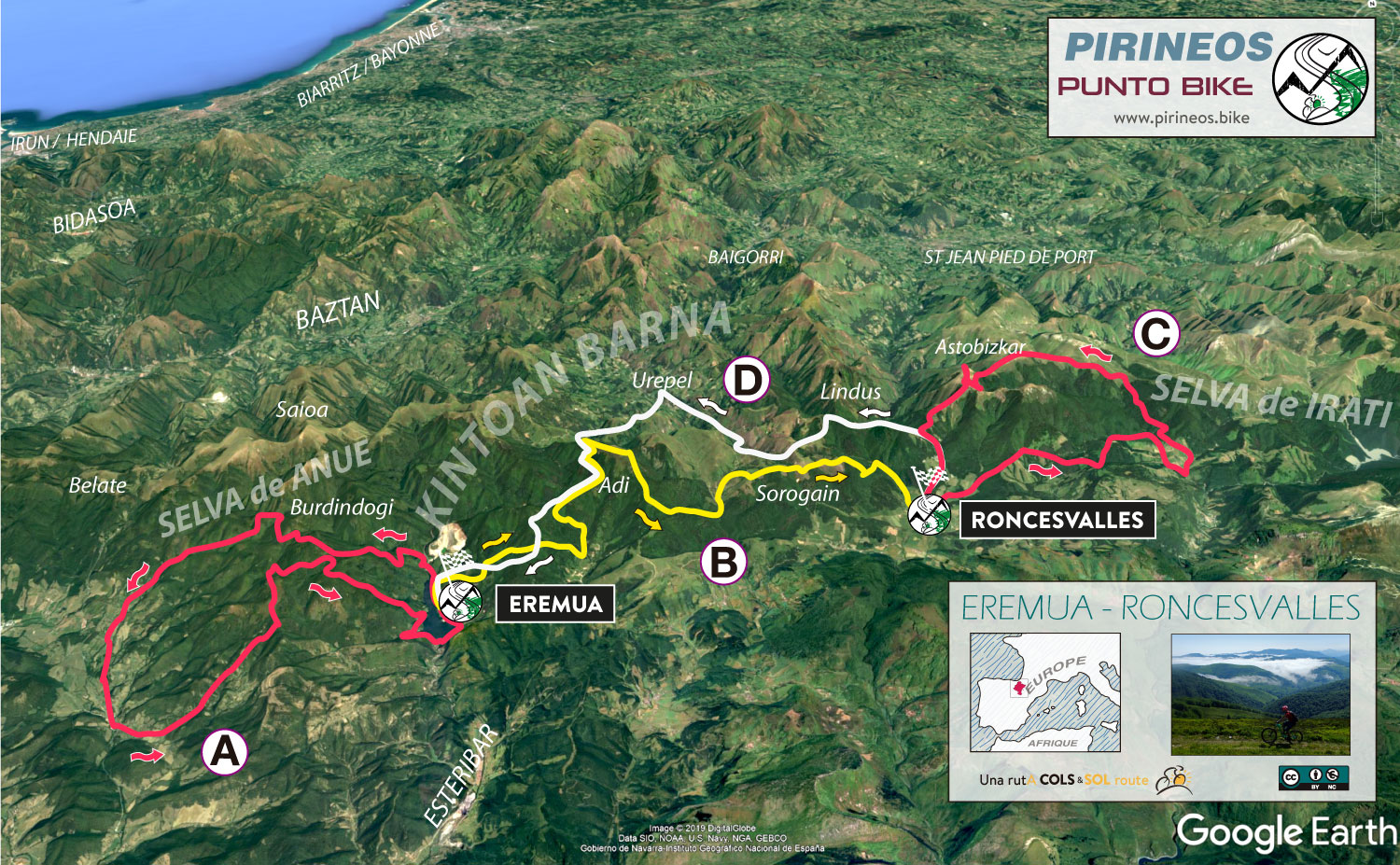 Map-Eremua-Roncesvalles-All-Mountain-MTB